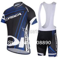 Wholesale Cool summer ORBEA team blue cycling jersey cycling wear cycling clothing Cycling Jersey Bib Shorts ORBEA D