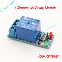 Cheap Wholesale-1 Channel 5V 12V Relay Module 5V 12V low trigger relay expansion board module for SCM Household Appliance Control