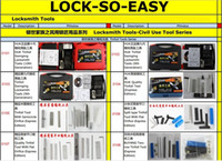 auto send email - Ebook New Locksmith Tools Catalog For Reference Or Sent Customer Format PDF By Email
