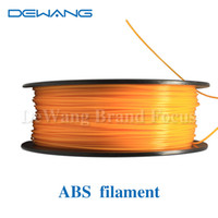 abs plastic extruder - DeWang R Orange D Printer ABS Plastic Filaments extruder kg Roll for d printing Pen Consumables order lt no track