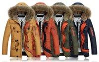 Cheap Famous Brand Goose Men's Heli-Arctic Parka 2015 Winter White Duck Down Jacket Warm Outdoor Work Coats Men Big Fur Hoods Jacket