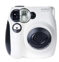Wholesale 2016 FujiFilm Fuji Instax Mini S Instant Photos Films Polaroid Camera Fuji Cute Fun Polaroid Cheki
