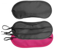 Wholesale Sleeping Eye Mask Protective Eyewear Colors Eye Mask Cover Shade Blindfold Relax Sleep Masks