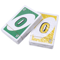 Wholesale UNO card family party games friend activity toys many people play the game props hot sales