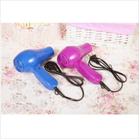 Wholesale 2015 Delicate Trendy New Hot Home Hotel Travel Accessory Household V W Travel Portable Foldable Hair Blow Dryer