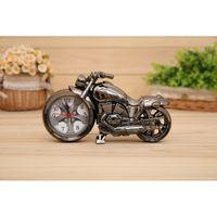 alarms gift items - New Stock Item Hot Selling Creative ABS motorcycle alarm clock Needles Desktop Clock Motorbike Gift