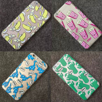 Cheap 2015 New arrival Fashion cactus Banana dinosaurs popcorn Design TPU Cover For iPhone 5 5s 6 4.7  6 plus 5.5 Free shipping