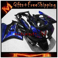 Cheap black blue CBR600F2 91-94 91 92 93 94 ABS Fairings Body Kit Fairing For honda CBR600 CBR 600 F3 1991 1992 1993 1994 ABS Plastic Bodywork Set