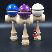 balance painting - new FEDEX IP yoyo pu paint ball balanced professional skills jade puzzle sword exercise kendama