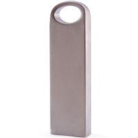 Wholesale 8GB Memory Flash Drive USB Thumb Stick Pendrive Genuine Storage Metal Customized Logo Service Silver