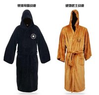 Wholesale 1 Star wars jedi bathrobe darth vader costume robe cosplay costume Toweling Sleepwear