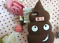 Wholesale Very cute Faeces cell phone case For iphone4 iphone4s iphone5 iphone5s iphone6 iphone6 plus samsung note3