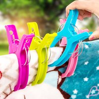 Wholesale pieces Plastic Windproof Hanging Quilt Clip Large Plastic Windproof Clip Extra large Outdoor Clothing Clip