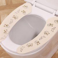 beige carpet - banheiro infant overcoat cover beige bear Winter warm adhesive sticker toilet seat mats health bathroom carpet set