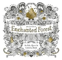 Wholesale Free DHL English Edition Enchanted Forest Secret GardenAn Inky Quest Coloring Book For Relieve Stress Graffiti Painting Drawing Book