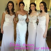 Cheap fast shipping sweerthart neckline with sash long bridesmaid dresses wtih lace appliques side with buttons formal dresses prom gowns mermaid