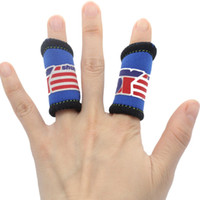 Wholesale shipping free ShuoXin SX500 Sports Long Finger Sleeve Brace Support Blue
