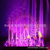 candles and candle holders - 2015 The New Ferris Wheel Champagne Tower And Candlestick Dual Wedding Party Supplies Wedding Decoration