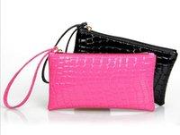 ban bags - 2016 new bag Miss Han Ban fashion long paragraph Clutch phone package crocodile purse