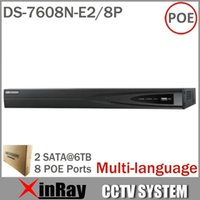 Cheap DS-7608N-E2 8P NVR Best hikvision IP Camera