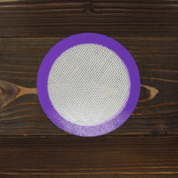 best diy tools - Best Selling Portable Mini quot Round Silicone Mats Fresh Purple DIY Face Mat Easy clean vapor mat wax jars mat dab tool pads