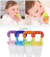 baby food natural - Hot Selling New Nipple Fresh Food Milk Nibbler Feeder Feeding Tool Safe Baby Supplies Toys