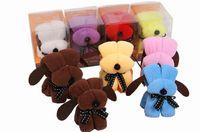 towel cake favors - 2015 New arrival cm Snoopy style cake towel Dog style Wedding birthday Christmas gifts wedding favors baby shower favors gifts
