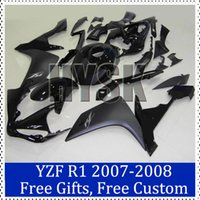 Wholesale Black fairing set for Yamaha YZF R1 ABS plastic Cowling YZF R1 Motorbike Cowling brand new fairings with free gifts