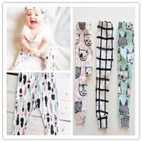 bib pants toddler - children Boutique sales Toddler trousers Leggings Baby Harem pants shorts vest shorts suits bibs hats
