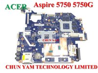 acer aspire system - Original motherboard MBRAZ02004 for Acer Aspire g laptop Notebook System Board Main board MB RAZ02 LA P Tested