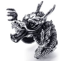 Cheap dragon ring Best vintage jewelry
