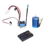 ezrun - Hobbywing EZRUN Brushless System B2 Combo A ESC T Motor LED Program Box for scale on road off road Sport RC Car
