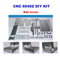 Wholesale Mini Z cnc engraving machine frame DIY cnc router frame kits with trapezoidal screw optical axis and bearing