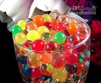 water beads for wedding - 11 colors Water beads magic Crystal soil Jelly water muds for plant wedding party deco