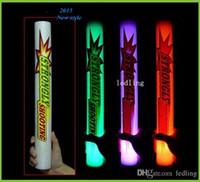 Palillos ligeros del LED llevó fuentes del partido palitos fosforescentes llevaron palos de espuma de alta calidad LED de barras de color llevado espuma ligero del palillo