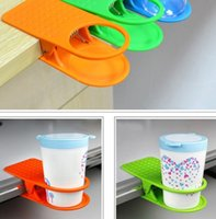 Wholesale Table Glass Water Cups Clip Drinklip Cup Holder Glass Holder Mug Office Tumblerful Glass Clamp Drink Klip Cups Keeper D5589