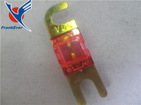 Wholesale Top Quality Hot Selling Gold Plated A Car Audio AFS Mini ANL Fuse Auto Stud Fuses