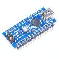 Wholesale Mini USB for Arduino Nano V3 ATMEGA328P Module CH340G V16M Micro controller Board Drop Shipping