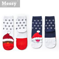 Wholesale 2015 new year Christmas holiday gift series soft feather yarn socks cotton Sen Department of all match Ms