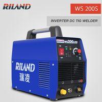 Wholesale Riland Welder TIG200S Household TIG Welding Machine WS200S Portable Small Size DC Inverter TIG Welder Stainless Steel Welder