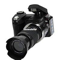 Wholesale D3000 MP HD Half DSLR Camera half Professional Digital Cameras x Telephoto Wide Angle Lens