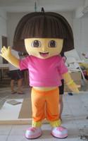 Wholesale New Dora Mascot Costume Fancy Dress Adult Suit Size R18