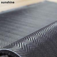 Wholesale 3k Carbon Fiber Fabric g Herringbone Woven mm Thickness Carbon Fiber Cloth Jacquard Weave For Car Parts