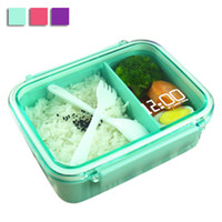 arriva boxes - New Arriva Bento Box Single Layer Cute Lunch Box For Kids Protable Tableware Fruits Food Container Lunchbox Cutlery JH0028 Salebags