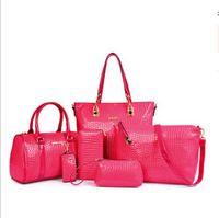 Wholesale 2015 Womne s Hot new crocodile bag package fashion shoulder messenger bag PU pic