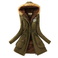 Wholesale New Fashion Women Jacket Winter Warm Solid Hooded Coat Female Slim Collar Women Jackets And Coats Abrigos Mujer JT142