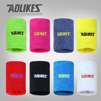 Wholesale New Hot Wrist Support Sport Band Sports Safety Basketball Tennis Volleyball Badminton Sweatband Wristband Gymnastics Hot