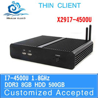 Wholesale 2014 newest CPU i7 u Haswell computer lowest price thin client laptop mini pc all in one pc support hd video