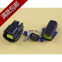 Wholesale 10 set Car Waterproof Pin way Electrical Wire Connector Plug diesel engine seriou automobile Connectors