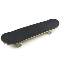 Wholesale Canadian Maple Skateboard EC LB02 Four Wheel Double Warped Longboard Groove high density waterproof non slip